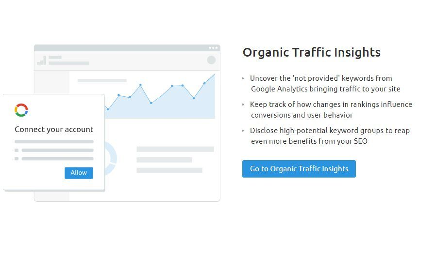SEMrush SEO Toolkit Organic Traffic Insights