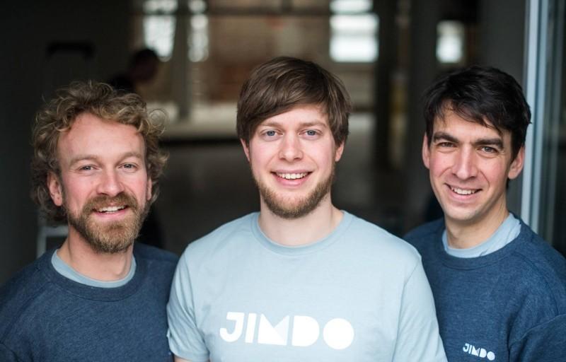 Die 3 Jimdo Gründer Fridtjof Detzner Christian Spingib und Matthias Henze