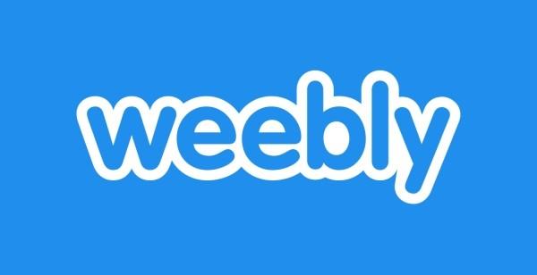 Weebly Logo für Website Builder Vergleich