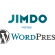 Wordpress vs Jimdo Header